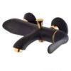 Golden black Hamoon shower tap
