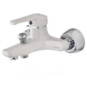 شیر حمام شیبه مدل مهتاب سفید