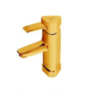 شیر روشویی شیبه مدل پانیذ طلایی